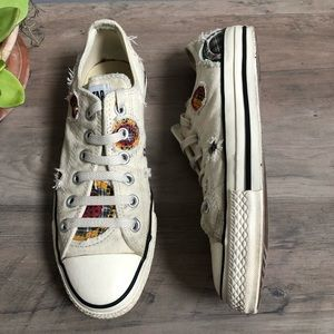 Converse Chuck Taylor Distressed Patchwork Sneaker